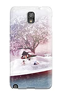 Durable Protector Case Cover With December Frost Hot Design For Galaxy Note 3