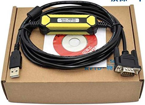 Calvas USB-PPI USB//PPI para cabo PPI S7-200 6ES7901-3DB30-0XA0 6ES7 901-3DB30-0XA0 com free STEP 7-MicroWIN V4.0 incl SP9