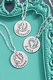 Abc Friend Sister Necklaces