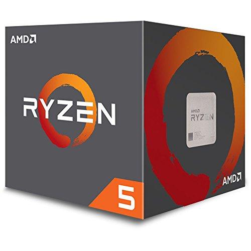 AMD Ryzen 5 1400 Processor with Wraith Stealth Cooler (YD1400BBAEBOX)