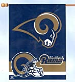 ST LOUIS RAMS 27 X 37 VERTICAL FLAG