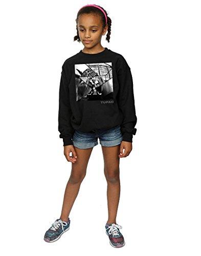 2pac Broken Sudadera Girl Negro Up HTRPqgxR