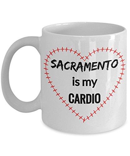 SACRAMENTO Coffee Mug - Sacramento is My Cardio]()
