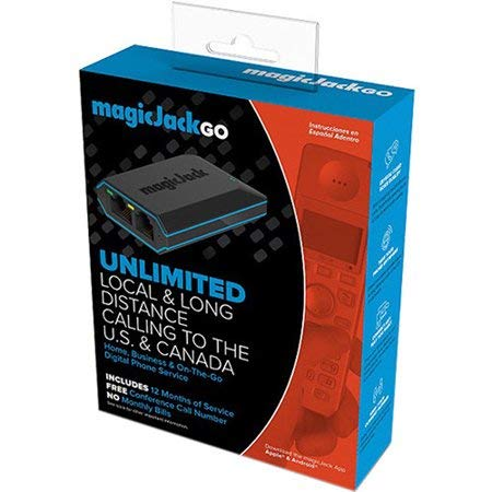 (magicJackGo, a Portable Home, Business and On-The-Go Digital phone Service that Allows You to Make Unlimited Local & Long Distance Calls to the U. S. and Canada. NO Monthly Bill.)