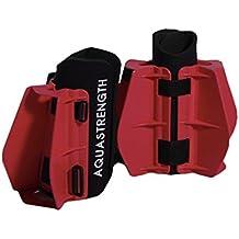 Aquastrength Maximum Resistance Aquatic Fins - Drag Resistance Pool Exercise Equipment for lower body