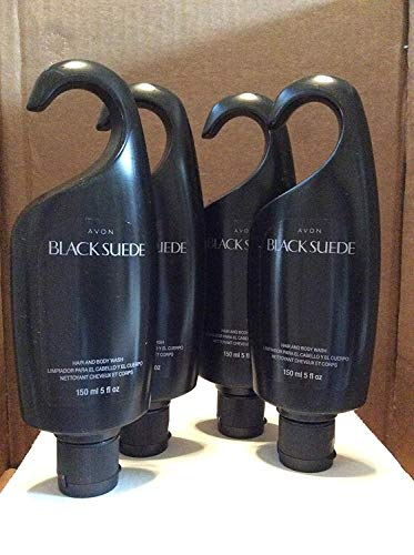 (Black Suede Hair & Body Wash Lot 4)