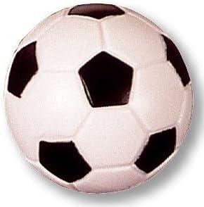 5 pieza futbolín Balón de fútbol de orig. 32 mm, Negro/Blanco Peso ...