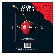 MCS 12550 Format Frame, 12 by 12-Inch, Black