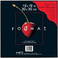 MCS 12x12 Inch Format Frame, Black (12550)