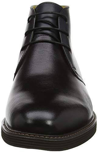 Knightsbridge Uomo Black Steptronics Nero Chukka 001 Stivali dwxpC