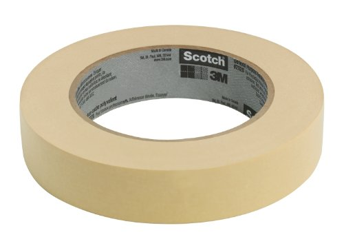 Scotch 2020-24ECC Masking Tape, .94-Inches x 60-Yards, 24-Rolls