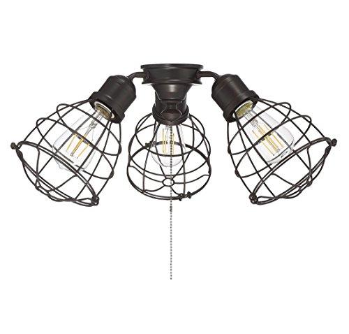 Savoy House Heath 18.9'' 3-Light Fan Light Kit in English Bronze by Savoy House