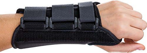 (DJ Orthodics ProCare ComfortFORM Wrist Support Brace: Left Hand, Large)