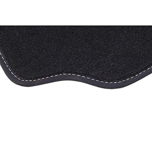 Alfombra Q2, 1alfombra de maletero gris/blanco, del 06.16AU CE día sobre medida. Piel sintética alfombra Gold