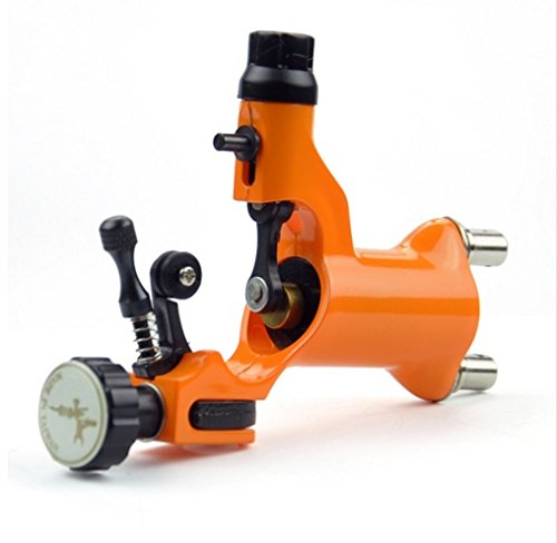 ORANGE Pro Dragonfly Rotary Tattoo Machine Motor Liner Shader Silent Running Tattoo Body Art USES the advanced world levels of Swiss motor