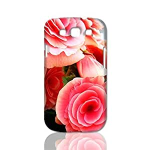 Blooming Flowers 3D Rough Case Skin, fashion design image custom, durable hard 3D , Case New Design For Case HTC One M8 Cover , By Codystore