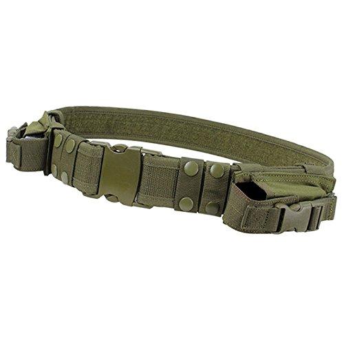 Etopfashion Equipos Militares Cinturón Táctico Hombres Casuales Combate Al Aire Libre Militar Nylon Correas Regulares Caza De Emergencia Rigger Supervivencia (E2)