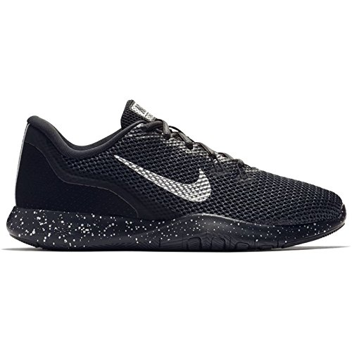 645d11cb6bee3 NIKE Women's Flex TR 7 Premium Training Shoe Black/Chrome/Anthracite Size  9.5 M US