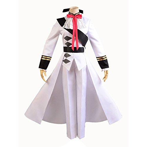 Seraph of the End Vampires Ferid Bathory Uniform Cosplay Costume