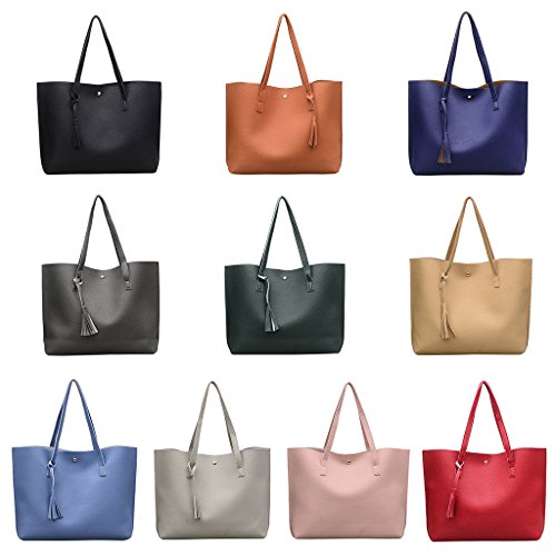 Messenger Bag Shoulder Fashion Shopping Purse Hobo Brown Tote Handbag Numkuda Women Bags FvZF0A