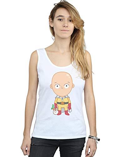 Pepe Rodriguez Mangas Blanco Saitama Mujer Sin Camiseta Little vv6r7Wz