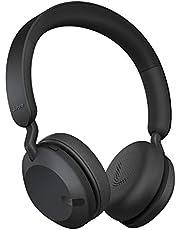 Jabra Elite 45h Draadloze Koptelefoon – Compacte en Vouwbare Bluetooth Koptelefoon, Gaat 50 Uur Mee – Beltechnologie met 2 Microfoons – Zwart