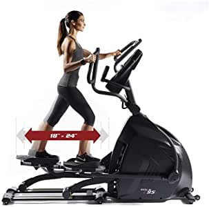 Sol Fitness elíptica E95S (Paso Variable): Amazon.es: Deportes y ...