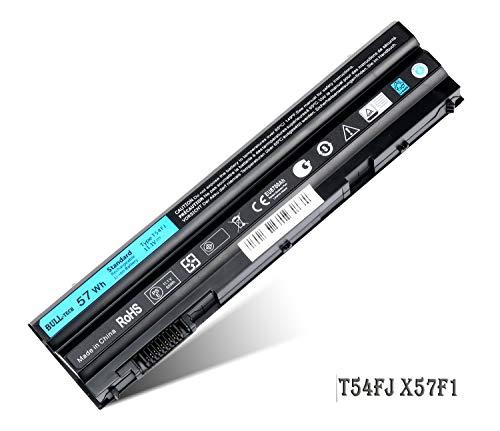 BULL-TECH 11.1V T54FJ New Laptop Battery for Dell Latitude E5420 E5520 E6420 E6520 Compatible P/N: M5Y0X 312-1163 HCJWT 7FJ92