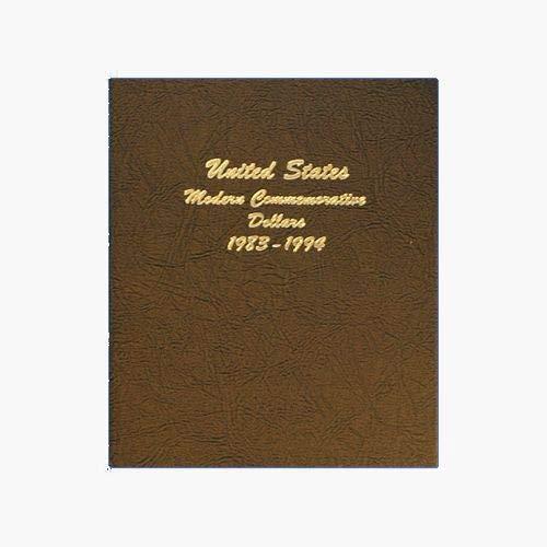 Us Coin Type - Dansco US Modern Commemorative Dollar Type Set Coin Album 1983 - 2004 #7065-1