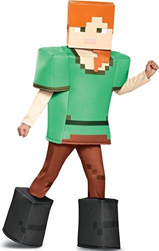 Alex Prestige Minecraft Costume, Multicolor, Small (4-6) -
