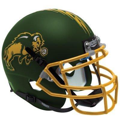 ISON Schutt AiR XP Full-Size REPLICA Football Helmet NDSU (MATTE GREEN) ()
