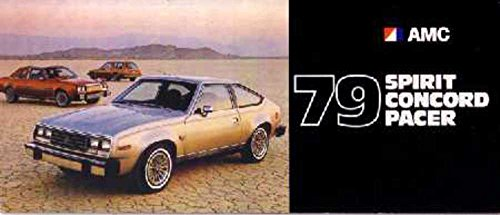 Chrysler Brochure (1979 Spirit Concord Pacer Sales Brochure Literature Book Piece Specs Options)