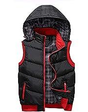 Mouwloos Bodywarmers Heren Puffer Vest Mens Gewatteerde Giletwinddicht Mouwloze vestjas, Warm Outdoor Bodywarmer for de winter Vest Winter