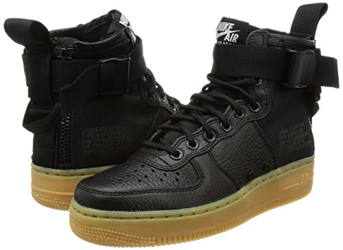 black Light 002 Force gum Brown Air Donna 1 Sf Aa3966 Scarpe Mid W Nike Black TFaqwBf1