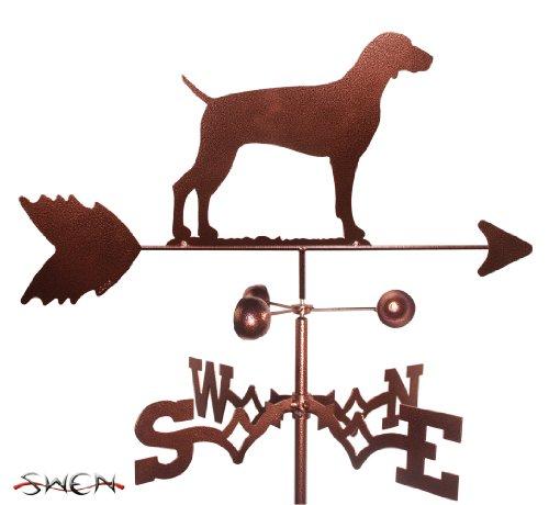 SWEN Products Hand Made Weimaraner Dog Garden Stake Weathervane ~New~ (Weathervane Stake)