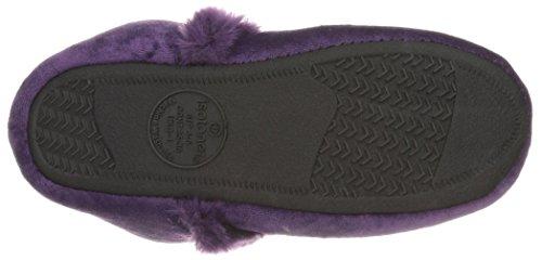 Bootie Purple Velour Women's ISOTONER Diane Slippers Majestic xatYHqH0wS