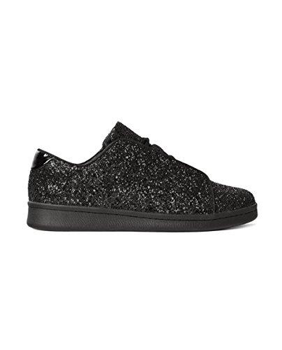 ZARA Herren Black Glittery Plimsolls 2301/302