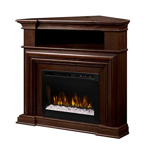 (DIMPLEX Montgomery Media Console Electric Fireplace - Acrylic Ember Bed)