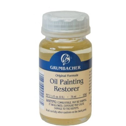 Grumbacher Oil Painting Restorer, 2-1/2 Oz. Jar, 5782 AV-GB5782
