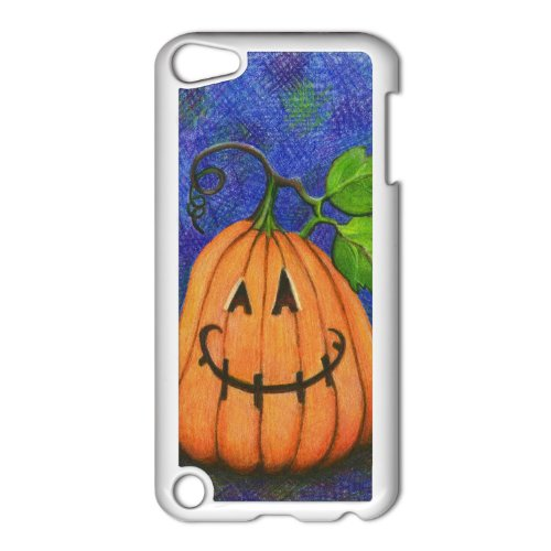 Happy Halloween Apple iPod Touch 5th Gen White Hard Case Original Holiday Art]()
