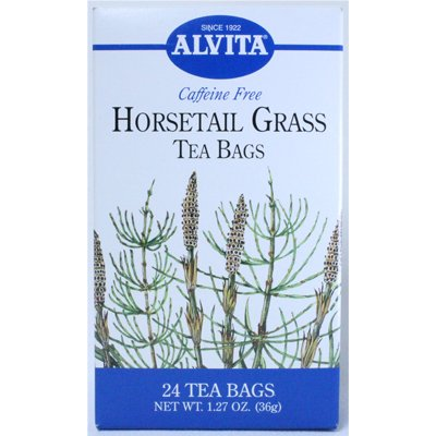 Alvita Caffeine Free Tea Horsetail Grass -- 24 Tea Bags