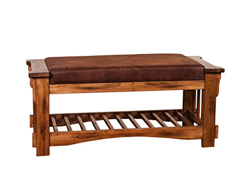 Sunny Designs Sedona Bench with Cushion Seat by Sunny Designs