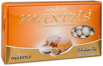 ConfettI MAXTRIS 1kg gusto SFOGLIATELLA NAPOLETANA: Amazon.es: Alimentación y bebidas
