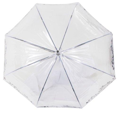 Isotoner Paraguas Cesta transparente para mujer PVC/Persan: Amazon.es: Ropa y accesorios