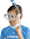 Cressi Youth Kids Snorkeling Mask and Dry Snorkel