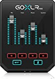 GoXLR Mini - Mixer & USB Audio Interface for