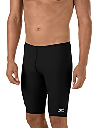Men's Endurance+ Polyester Solid Jammer Swimsuit