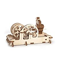 Engine - Unique Glue Free Eco Friendly Wooden Mechanical Self Assembly Moving Kit by UGEARS