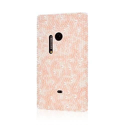 EMPIRE GLITZ Slim-Fit Case for Nokia Lumia 1020 - Retail Packaging - Pink Pearlescence (Nokia Lumia 1020 Best Price)
