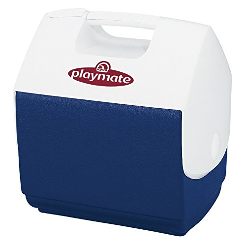 Igloo Playmate Pal 7 Quart Personal Sized Cooler (Ocean Blue/White, 11.75 x 8.25 x 13-Inch) (Small Cooler Lunch Box compare prices)